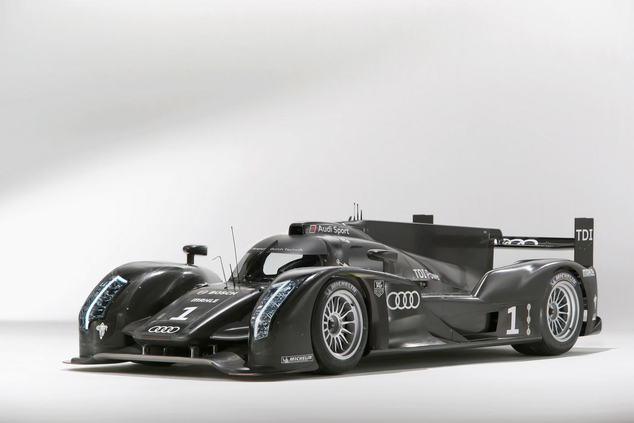 1 Audi R18   Le Mans i űrszekér