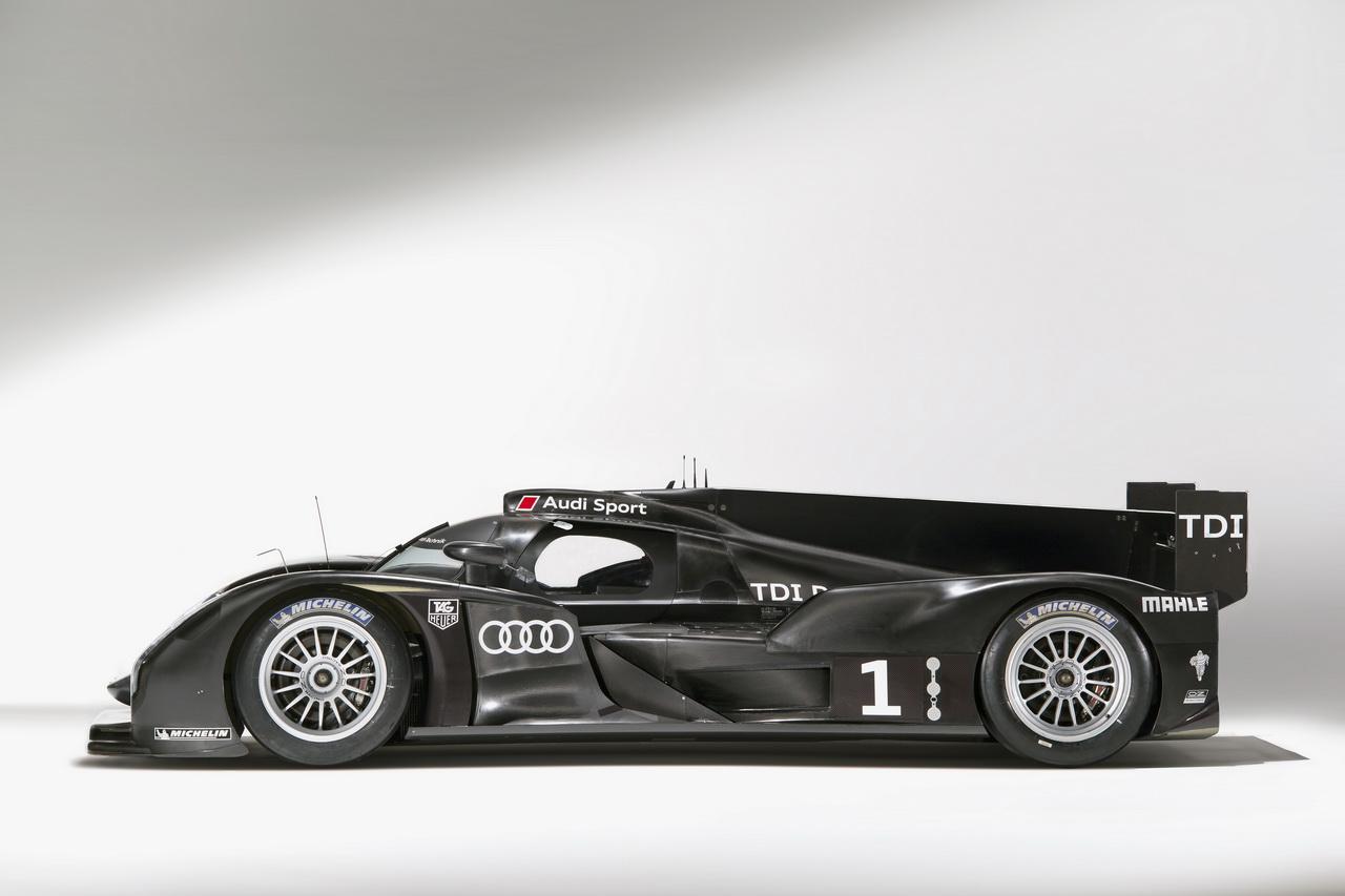 5 Audi R18   Le Mans i űrszekér