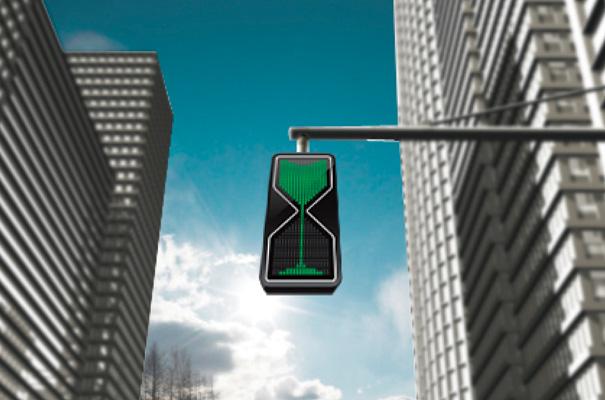 Thanva Tivawong sand glass traffic lights redesign design timer make sense countdown3 Homokórás közlekedési lámpa