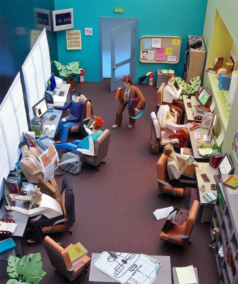 112 Hírességek miniatűr papír modelljei