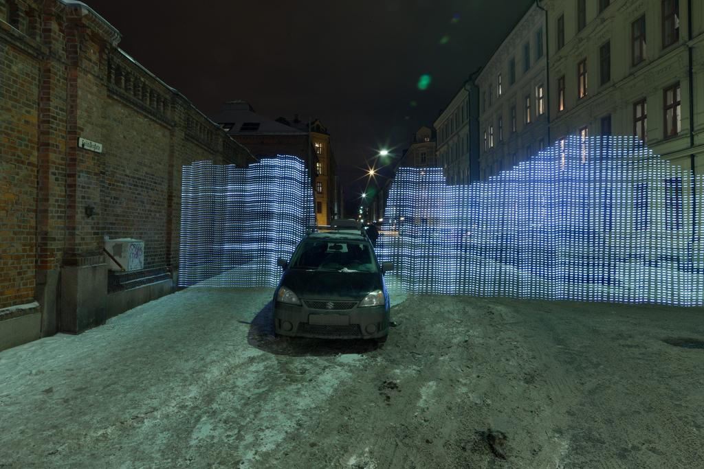 6 Fényfestett városi WiFi térkép