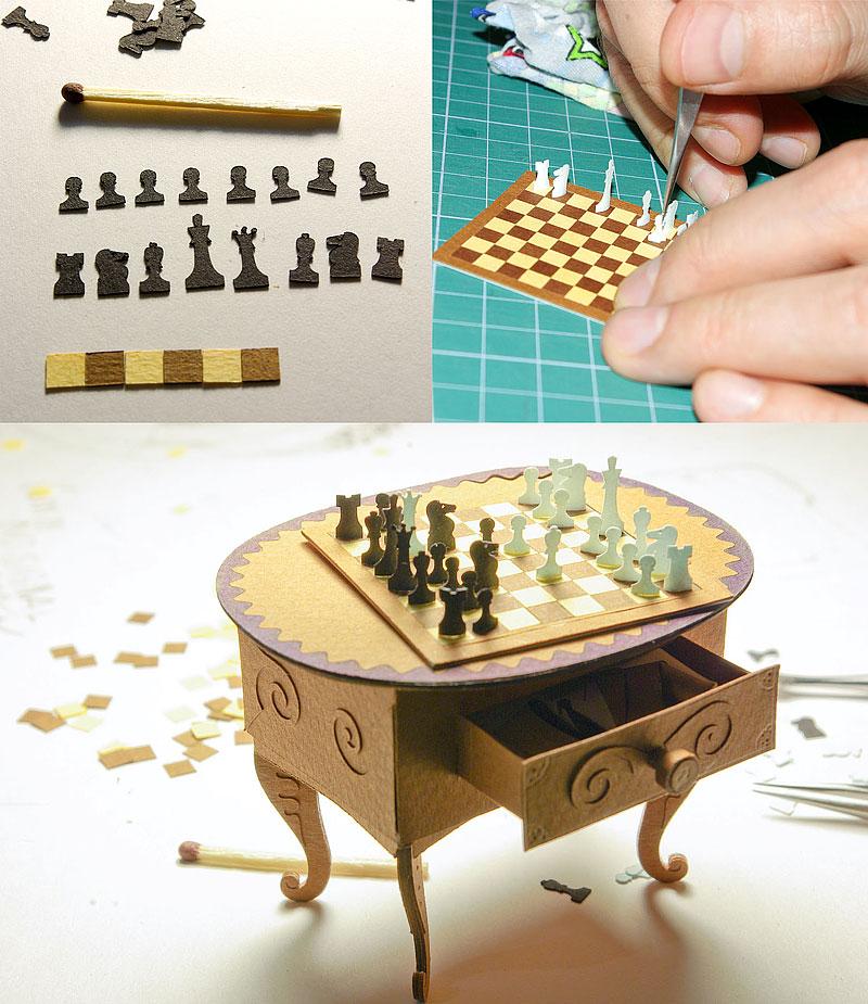 71 Hírességek miniatűr papír modelljei