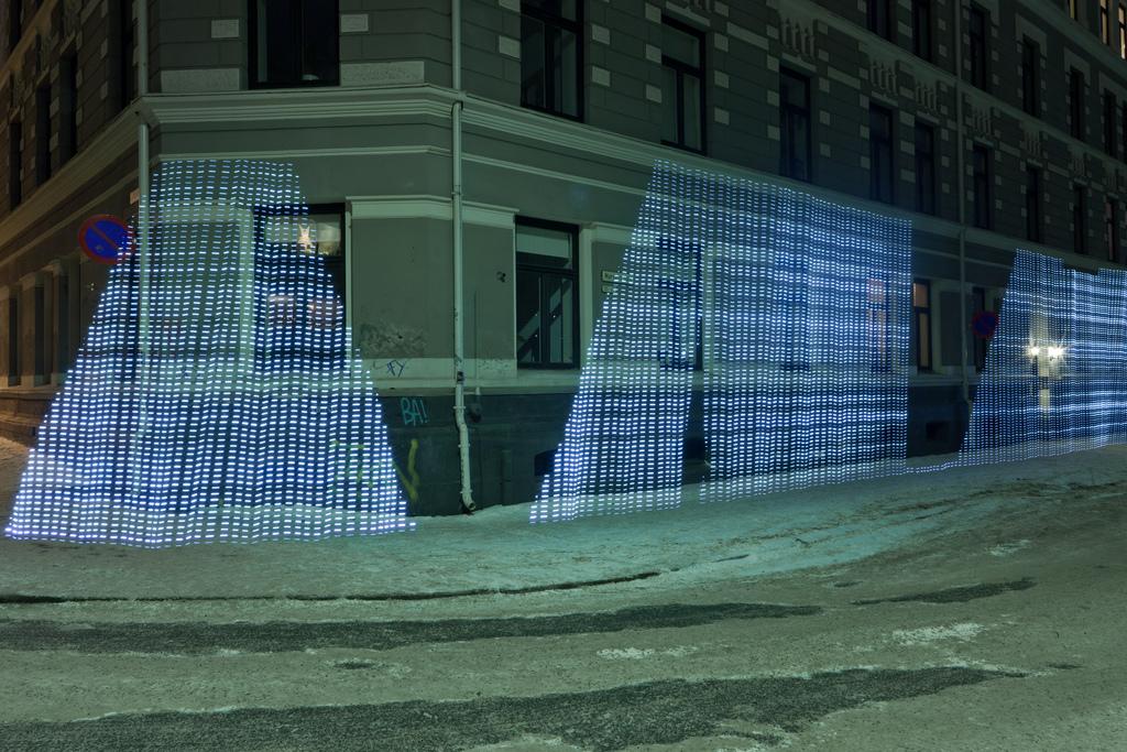 9 Fényfestett városi WiFi térkép